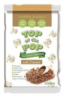 Popcorn with Linseed